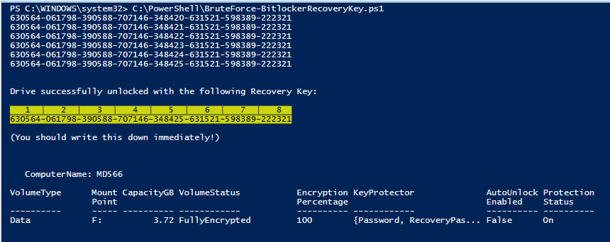 Windows 8 1 bitlocker recovery key | How to enter the