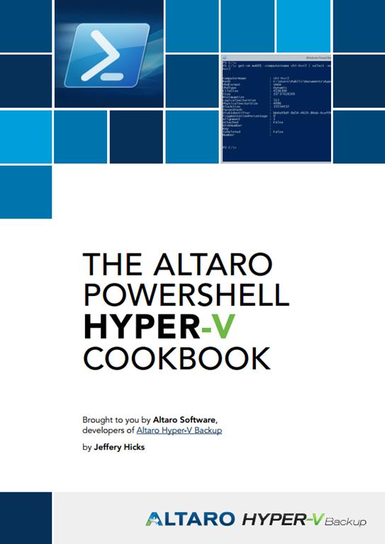Download – PowerShell Hyper-V Cookbook – NoGeekLeftBehind com