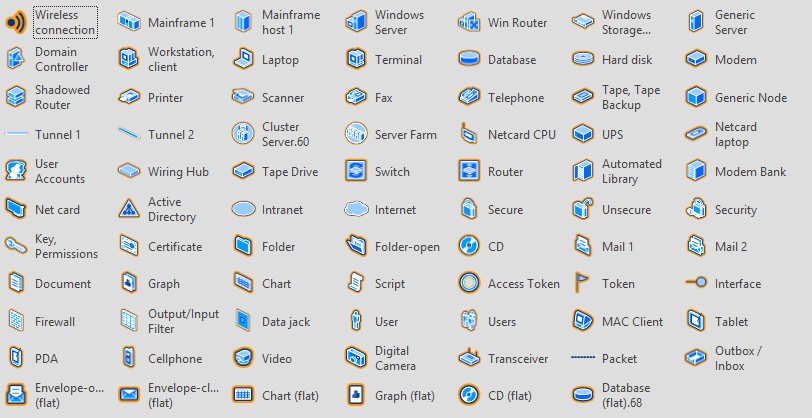 Download Even More Free Visio  work Stencils on cisco diagram