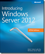 eBook - Introducing Windows Server 2012