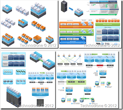 httptechnodroneblogspotcom201304vmware - Download Visio Templates