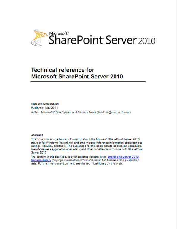 sharepoint server 2010 full version free