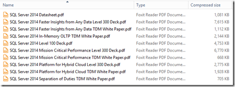 Microsoft SQL Server 2014 CTP2 Product Guide - Content 2