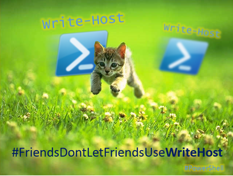 FriendsDontLetFriendsUseWriteHost
