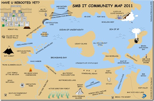 Have U Rebooted Yet 051 - SMB IT Community Map 2011