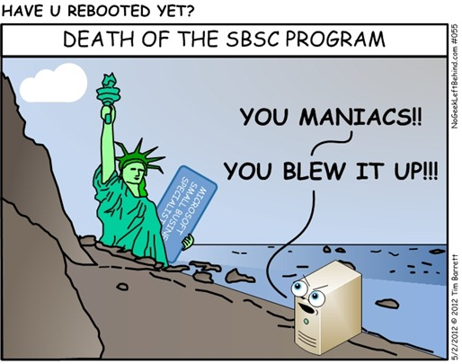 Have U Rebooted Yet 055 - Death of the SBSC Program