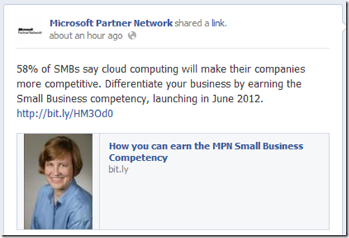 Quote: 58% of SMBs say cloud computing will make their companies more competitive