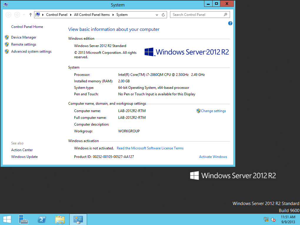 Windows Server 2012 R2 and 8 1 RTM on MSDN/TechNet