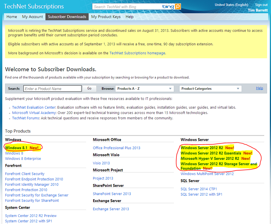 Msdn downloads my visual studio | Visual Studio