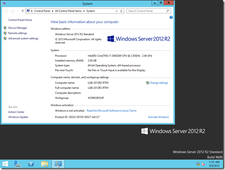 Windows Server 2012 R2 - RTM