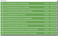 Training – Free MVA Networking Fundamentals course