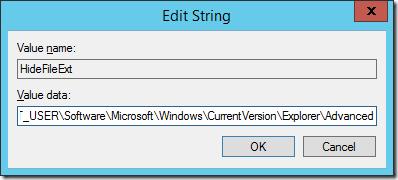 Edit String
