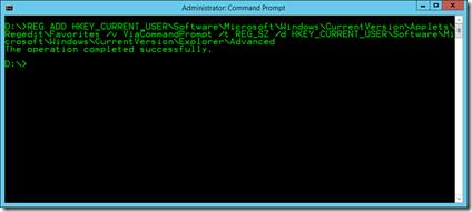 REG ADD via command prompt