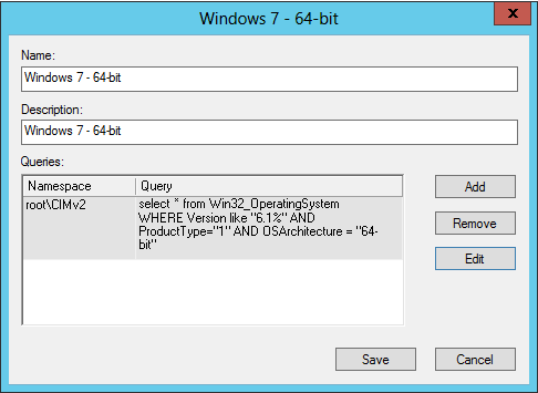 OS Version Queries for WMI Filters – NoGeekLeftBehind com