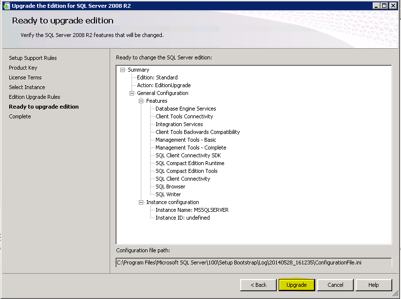 sql server 2014 volume license key