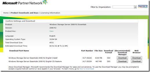 Windows Storage Server 2008 R2 Essentials is available for download through MAPS
