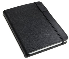 Optional leather cover