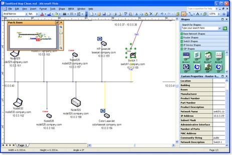LANsurveyor_Visio_output
