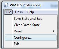WM 6.5 - Configuration