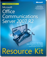 eBook Microsoft Office Communications Server 2007 R2 Resource Kit