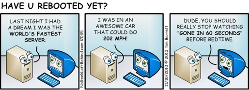 Have U Rebooted Yet 035 - World's Fastest Server (Sometimes dreams come true ;-)