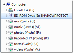 Mount the ISO or insert a ShadowProtect DVD