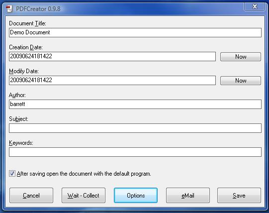 create password protected pdf