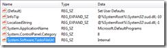 Registry key for System.Software.TasksFileURL