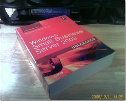 Windows Small Business Server 2008 Unleashed book