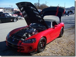 Viper SRT10 ACR - Showing off the V10 engine