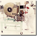Picture of a giant hard drive