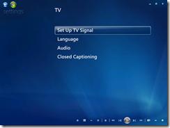 Hyper-V Windows 7 Media Center
