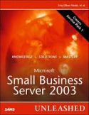 Co-Author: Microsoft SBS 2003 Unleashed &#8211; ISBN: 0672328054 on Amazon.com