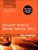 Technical Editor: Windows Home Server Unleashed 3rd Edition